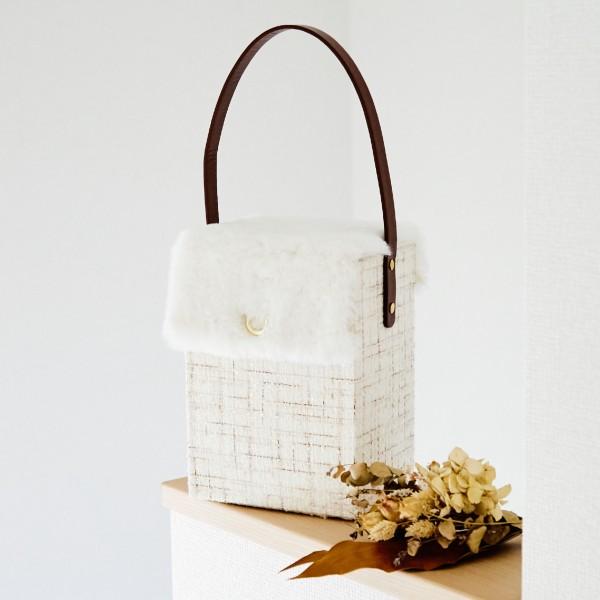 縫わずに作るバッグ